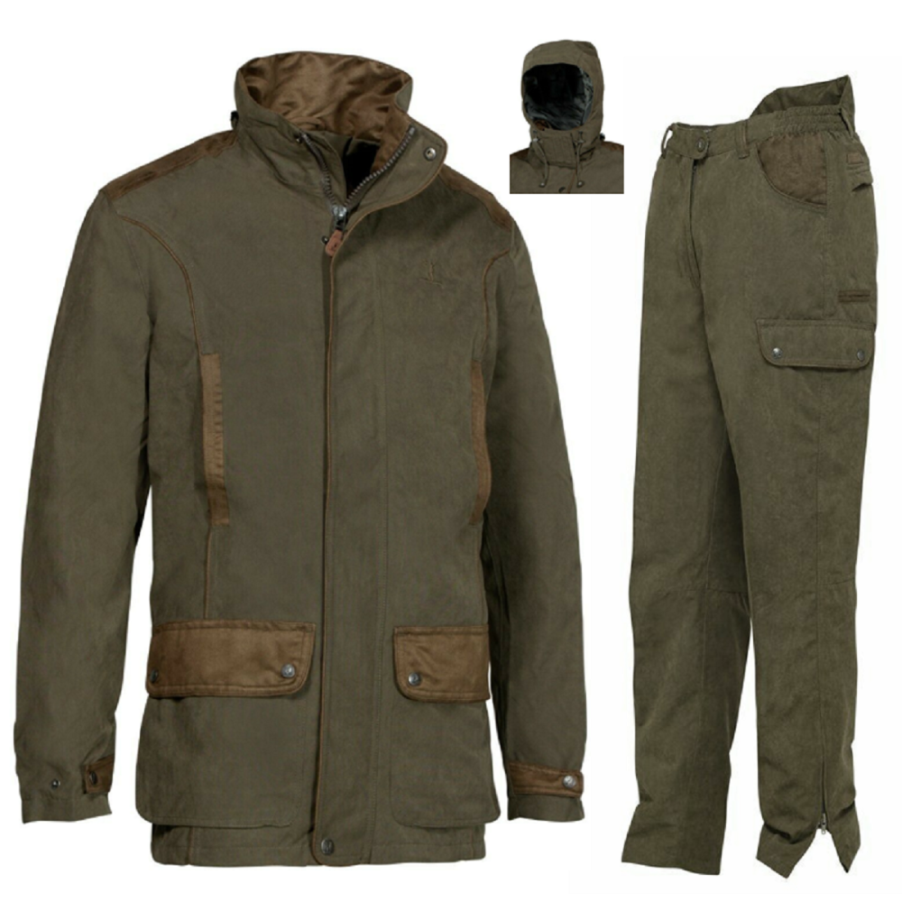 Marly Hunting Jacket and Trousers. Waterproof and Breathable with Taped Sea