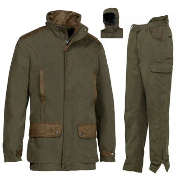 Marly Hunting Jacket and Trousers. Waterproof and Breathable with Taped Seams