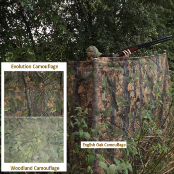 Jack Pyke Camouflage Clear View Hide Netting