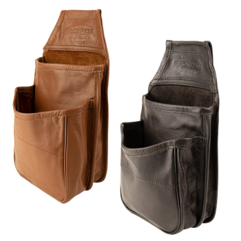 Jack Pyke 50 Leather Cartridge Holding Pouch / Sporting Bag