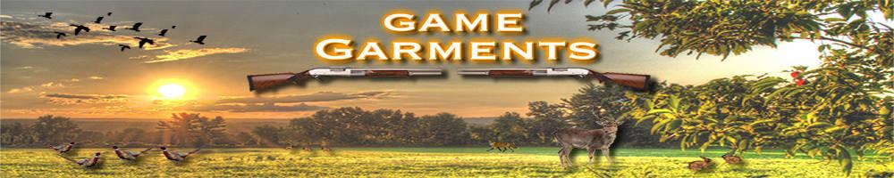 Game Garments, site logo.