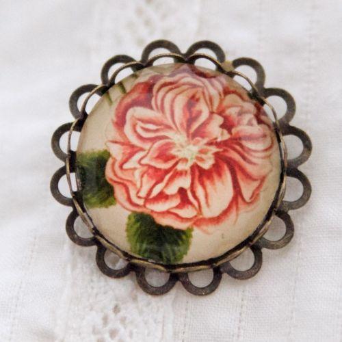Damascene rose by Elizabeth Blackwell