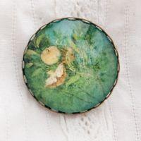 Villa di Livia Roman fresco brooch
