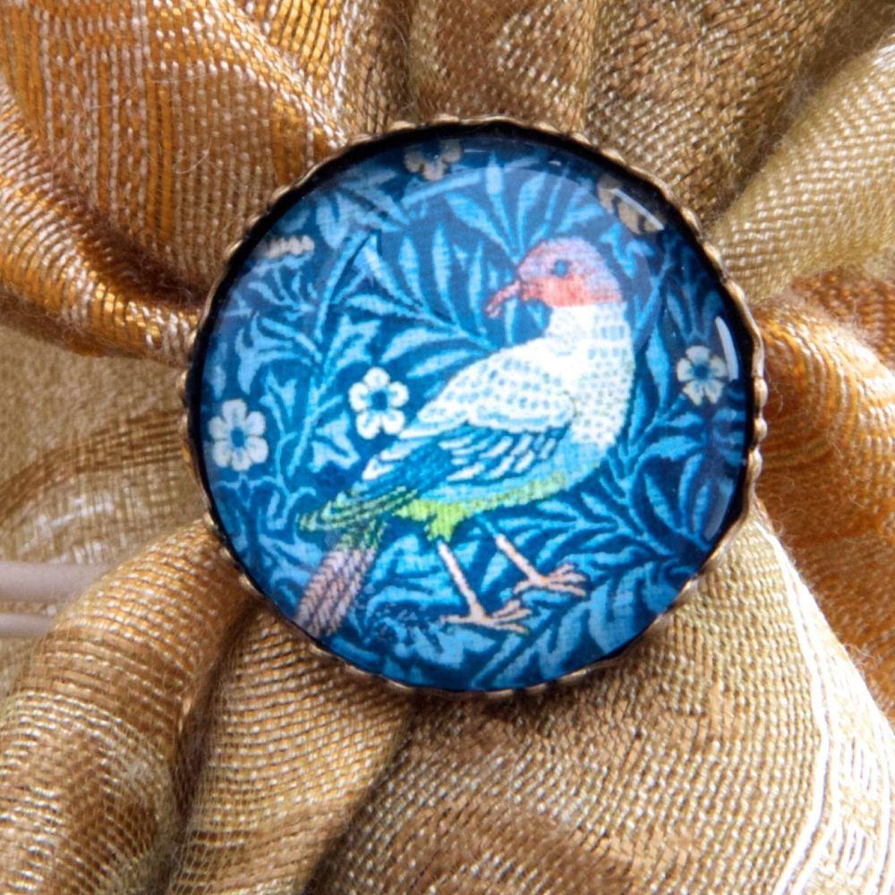 William Morris 'Bird' ring