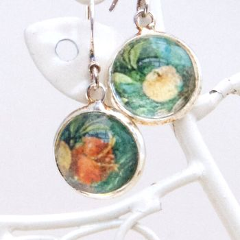 Villa di Livia, Roman garden fresco earrings