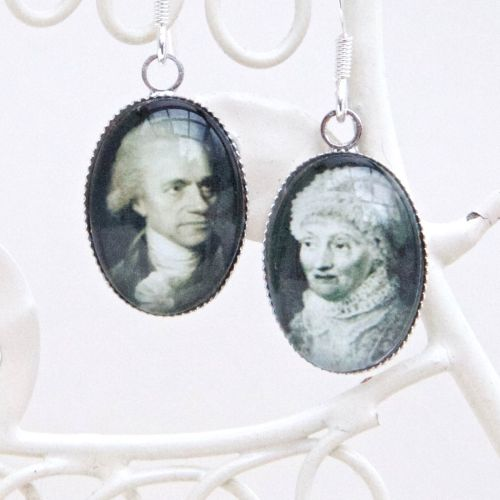 William & Caroline Herschel earrings