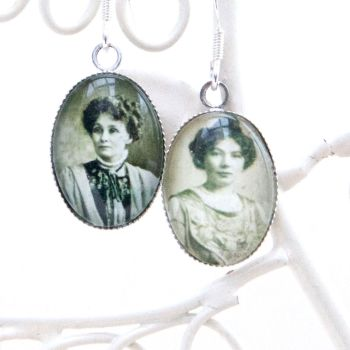 The Pankhursts, Suffragette earrings