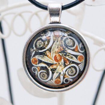 Minoan Phaistos dish pendant