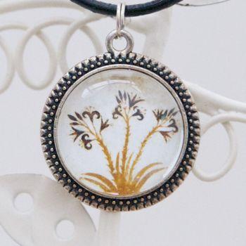 Minoan Akrotiri lilies pendant