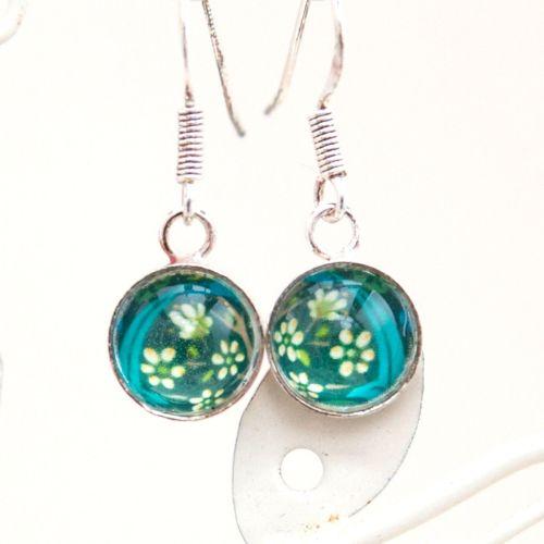 William Morris 'Blackthorn' earrings
