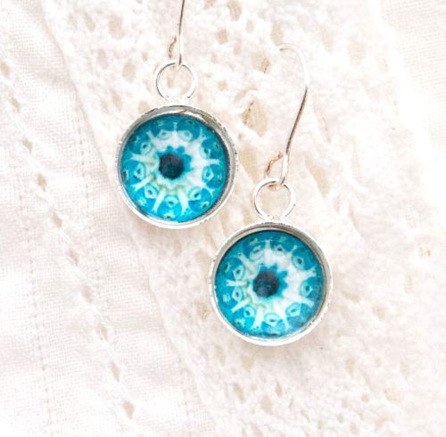 Botryllus earrings