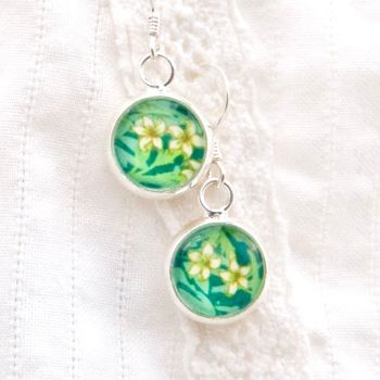 William Morris 'Jasmine' earrings