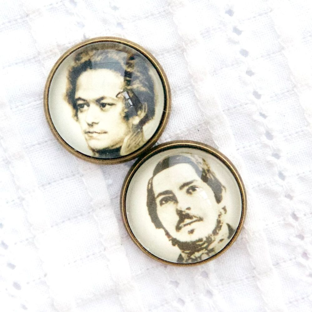Young Marx & Engels cufflinks