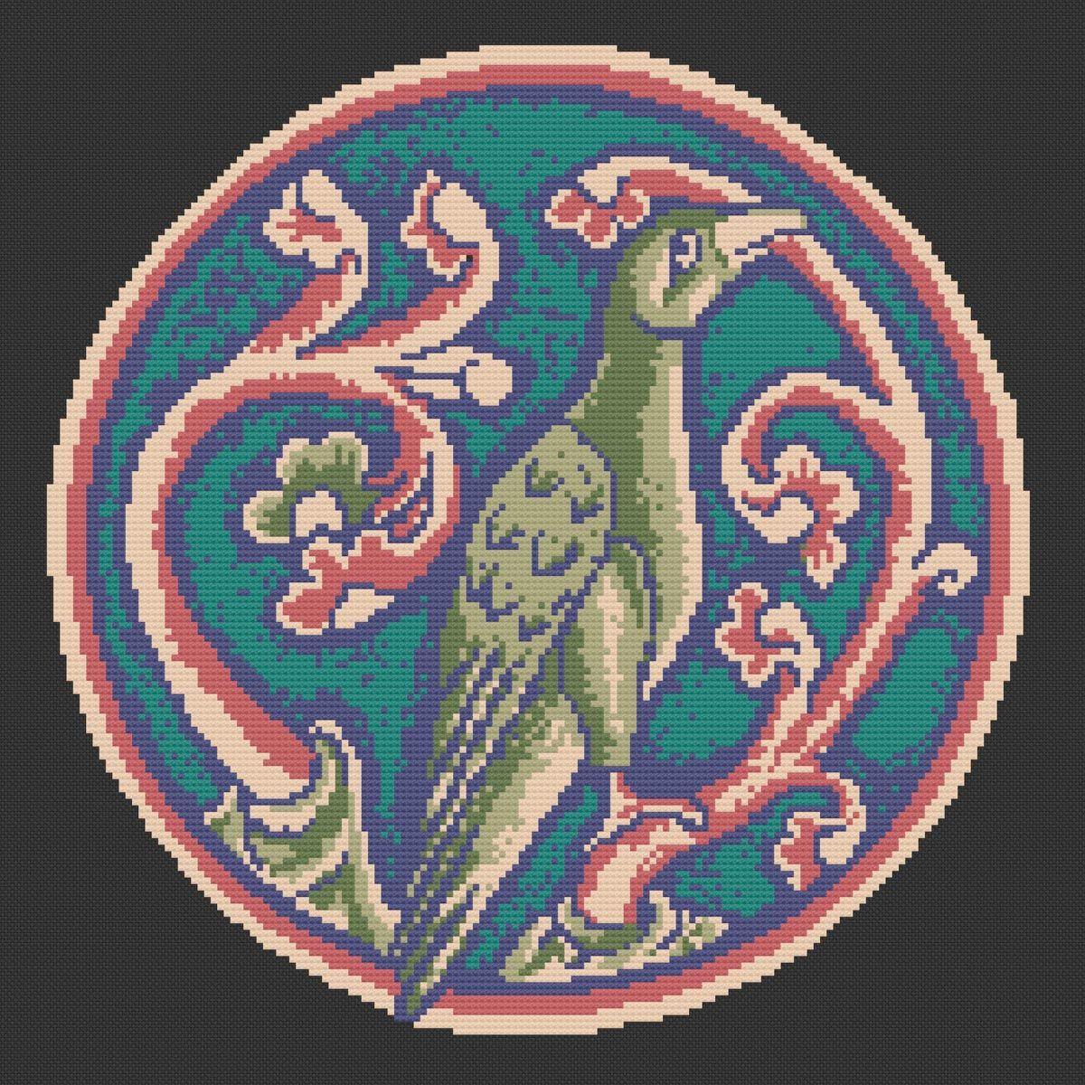 Historiana Cross Stitch Phoenix l Pattern