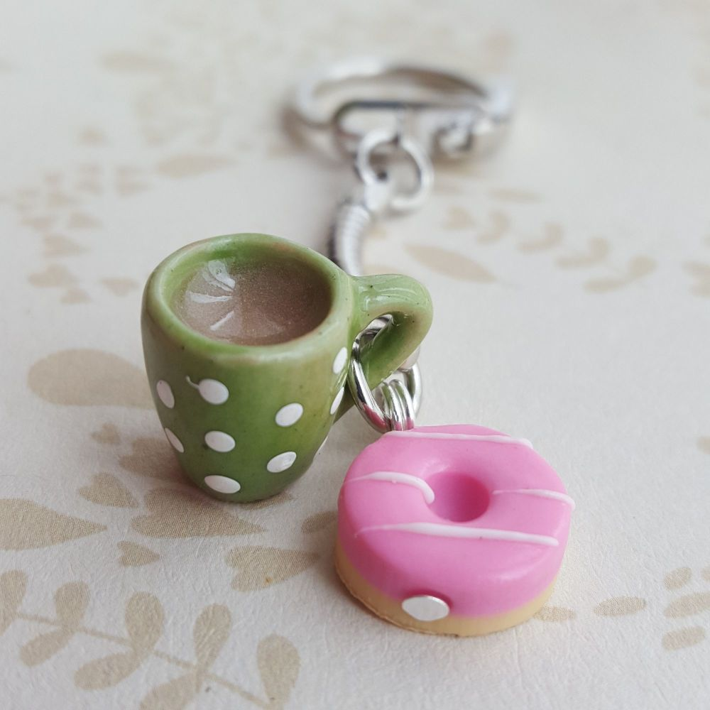Party Ring Biscuit and Mug Keyring