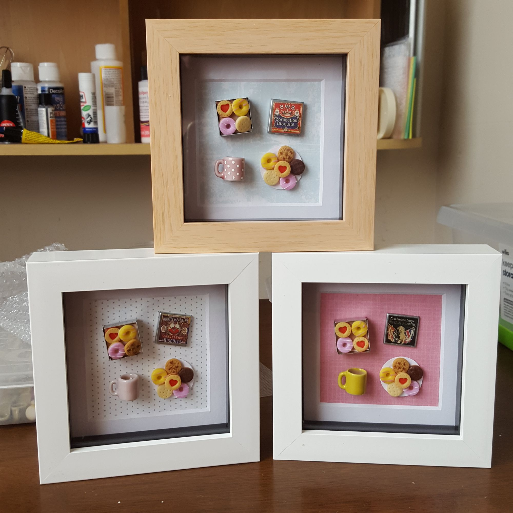 Tea and Biscuit Frames