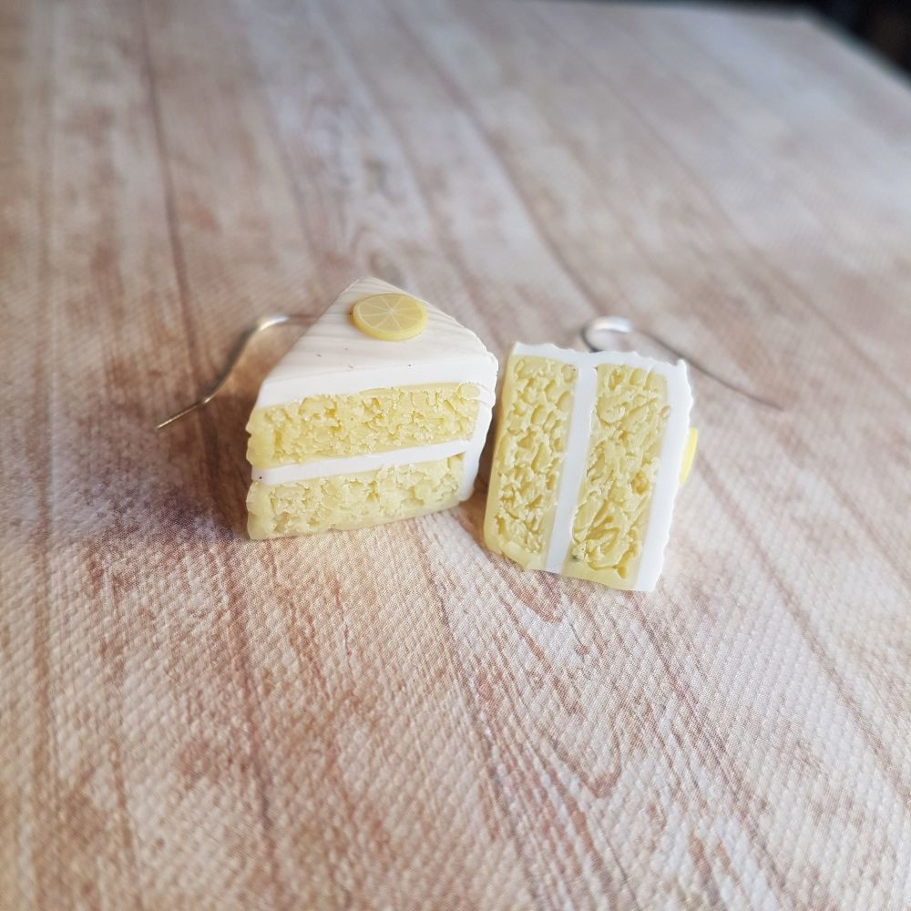 Lemon Cake Earrings