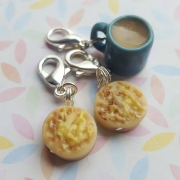 Tea and Crumpets  marker set