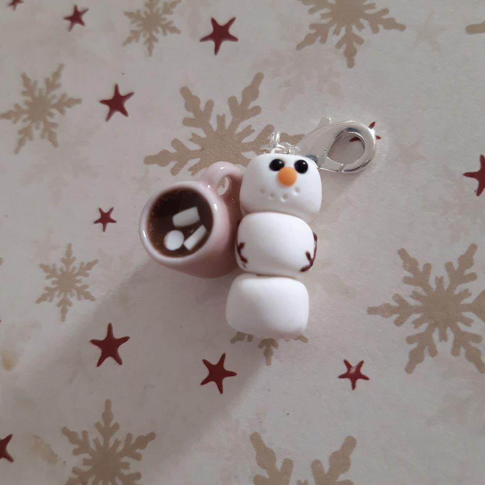 Snowman and Hot Chocolate Marker Set