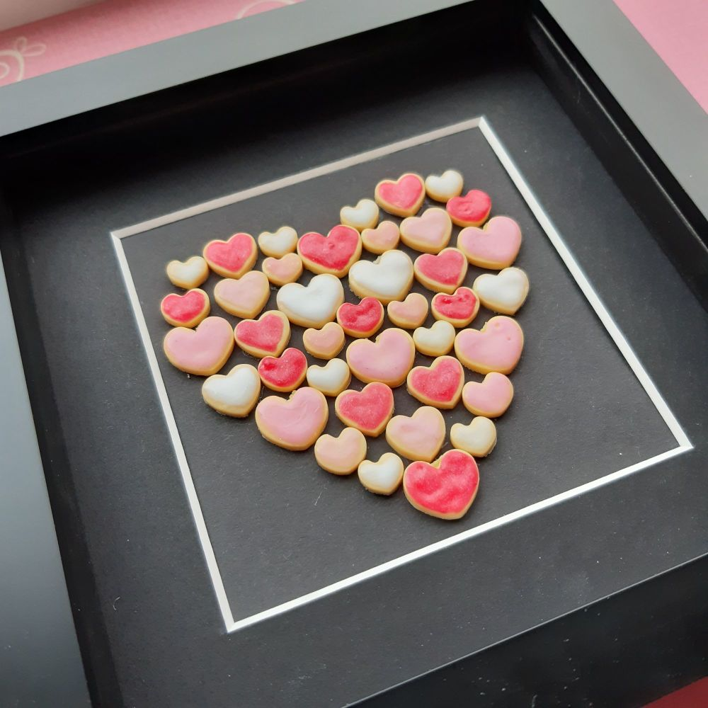 Love Heart Shaped Wall Art