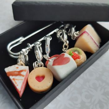 Strawberry Stitch Marker Set