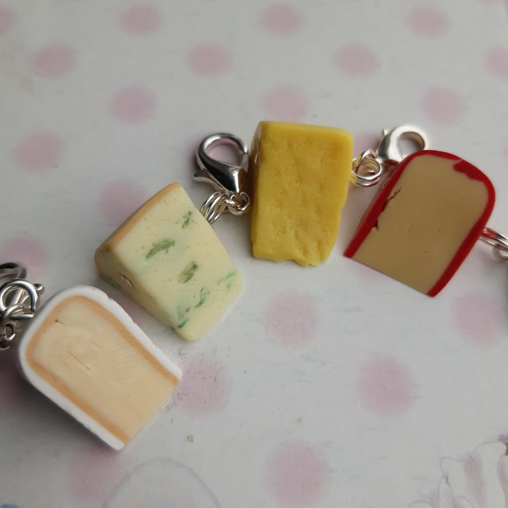 Cheese Stitch Marker Set