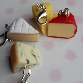 Cheese Stitch Marker