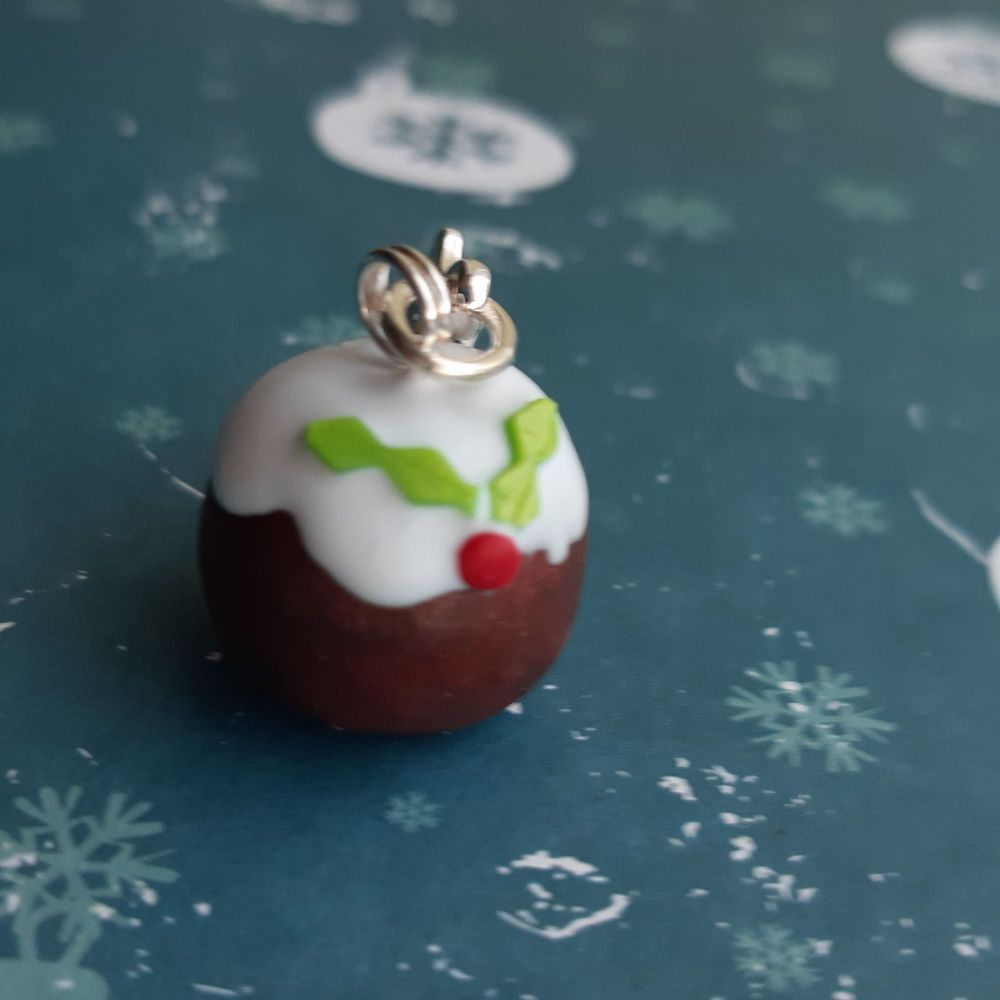 Christmas PuddingStitch Marker