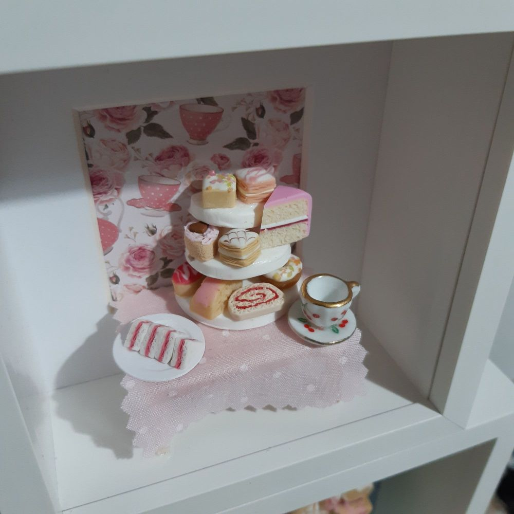 Afternoon Tea Shadow Box