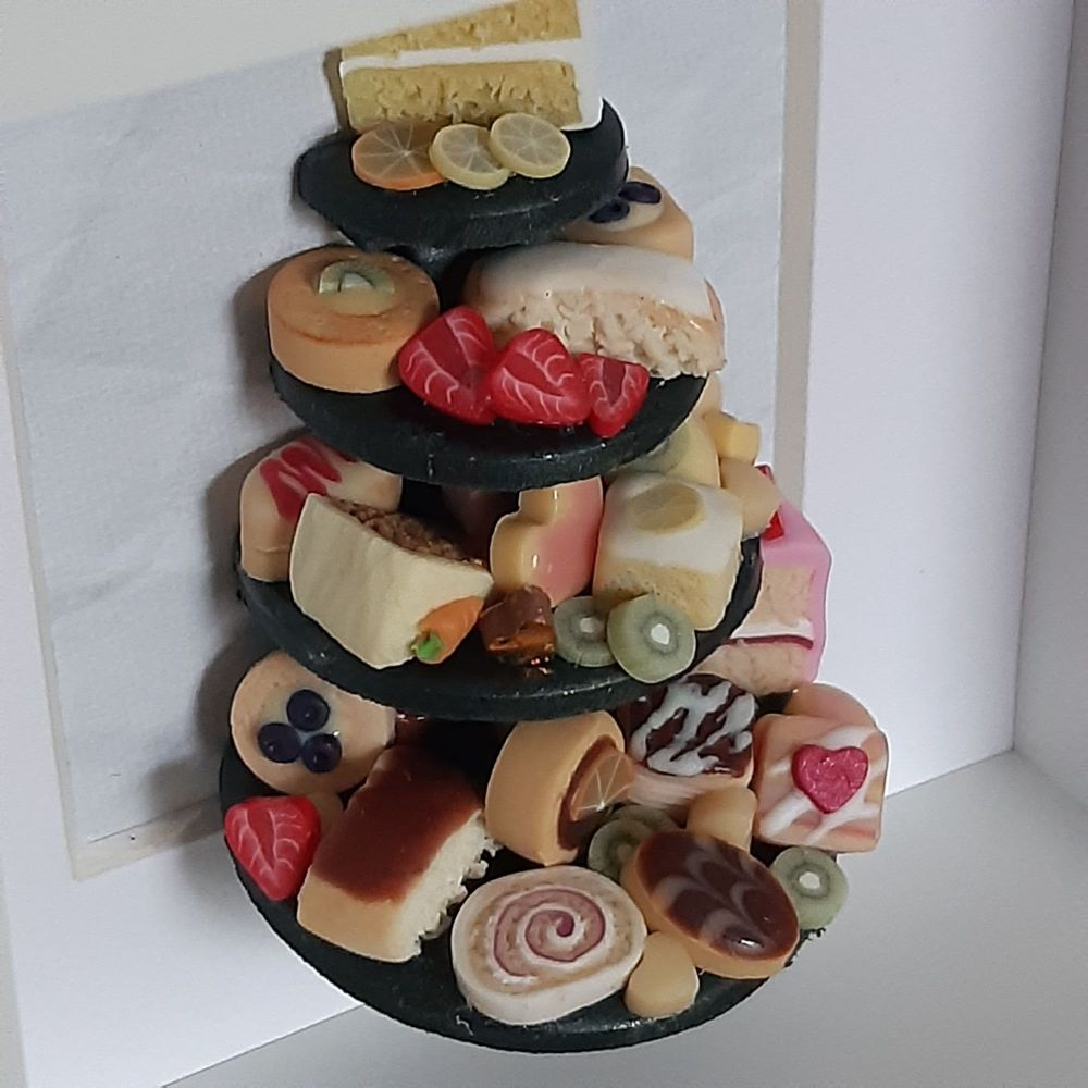 Miniature Food Shadow Box