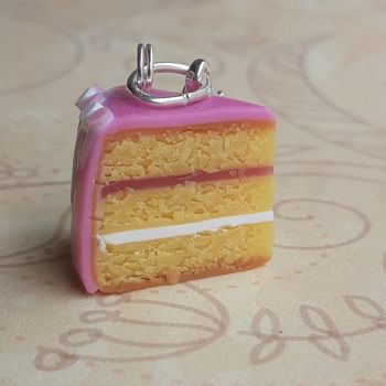Triple Layer Vanilla Cake Stitch Marker