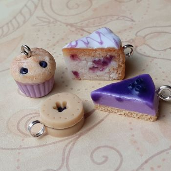 Blueberry Cakes and Biscuits