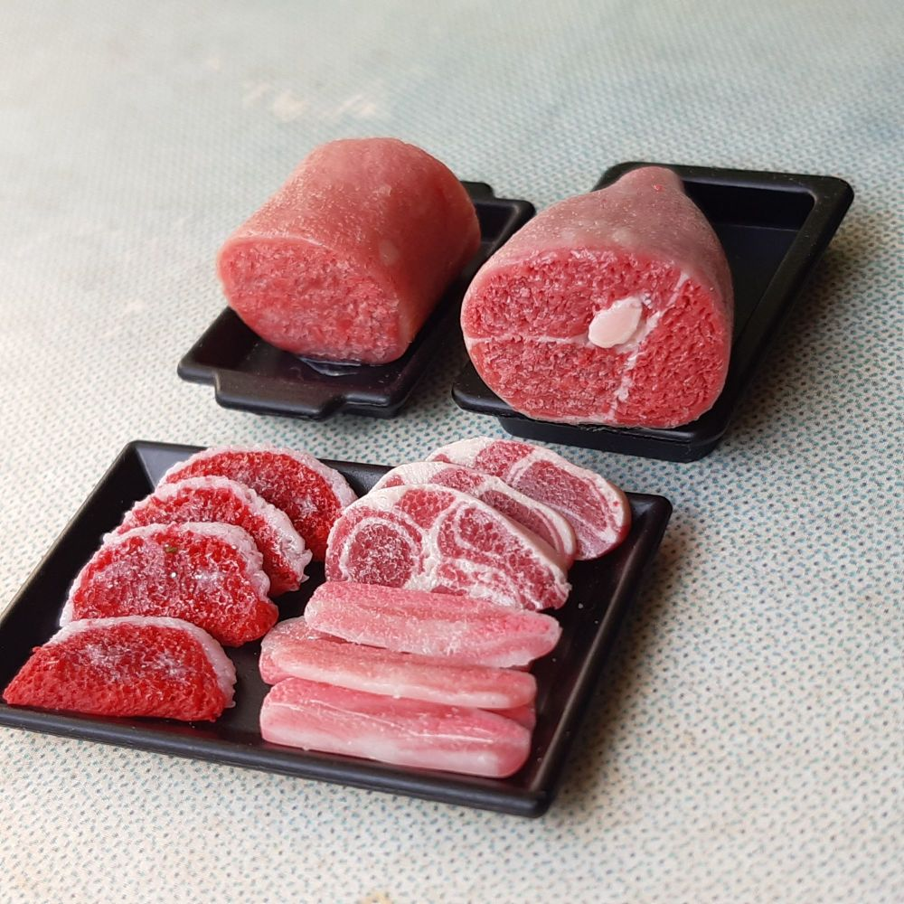 Meat in Trays