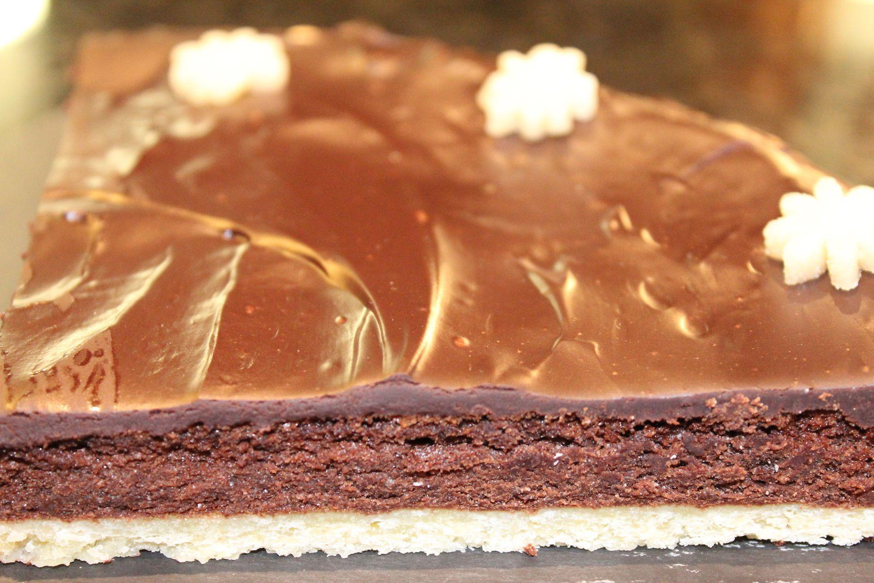 Chocolate Tart at Oakley Grange Café
