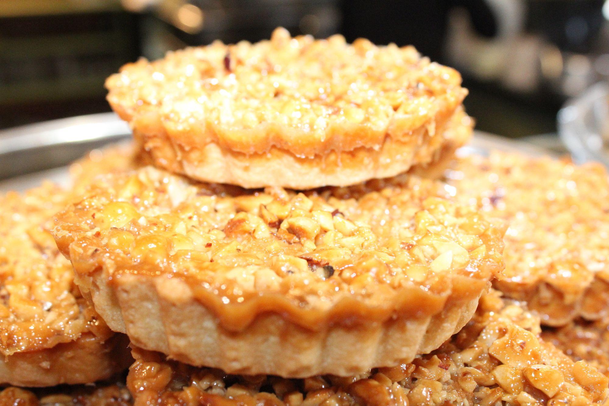 Nut Tart at Oakley Grange Café
