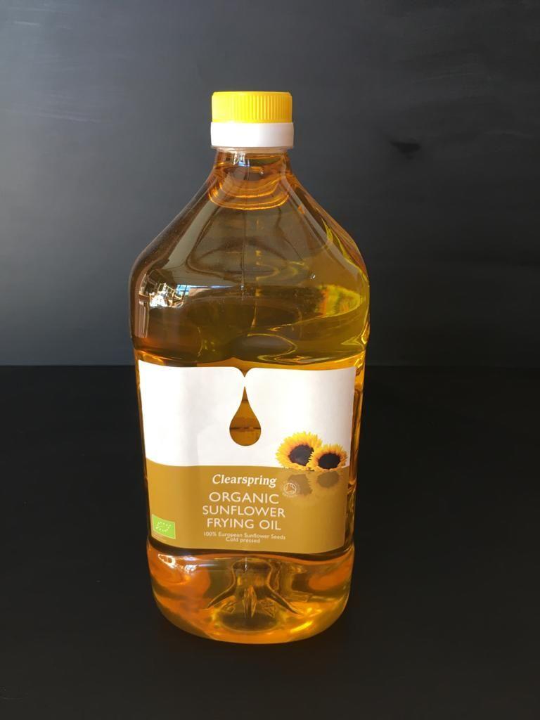 Organic Sunflower Frying Oil