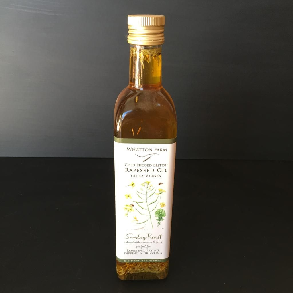 Whatton Farm Cold Pressed Rapeseed Oil