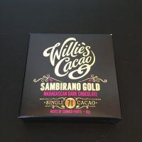 Chocolates - Willie's Cacao Madagascan Gold Sambirano 71