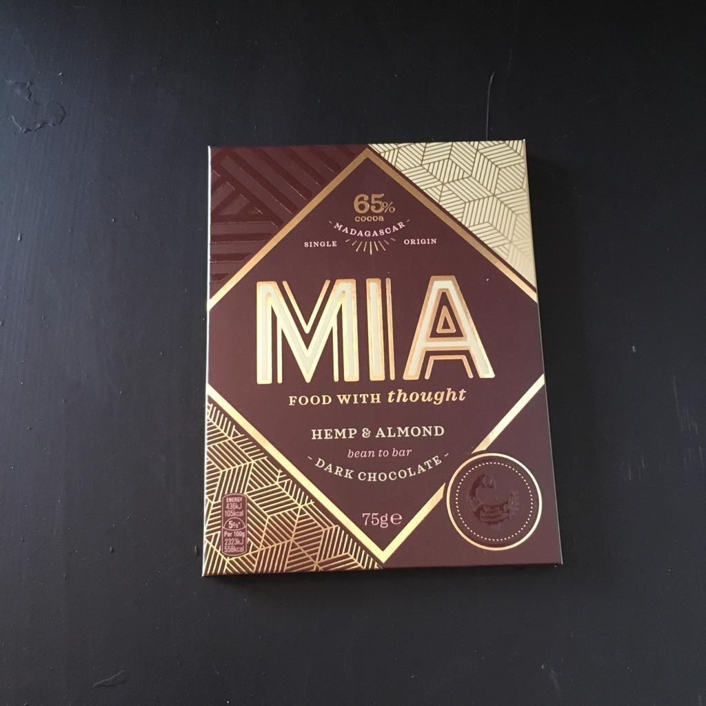 Mia Dark Chocolate with Hemp & Almond