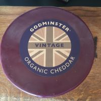 Cheese -  Godminster Organic Mature Cheddar 200g slice