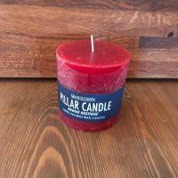 Candles - Large Red Pillar Candle