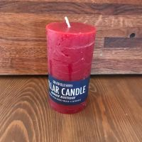 Candles - Tall Red Pillar Candle