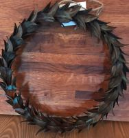 Decorations - Metal Leaf Wreath