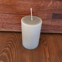 Candles - small Light Grey Candle 70 * 75mm
