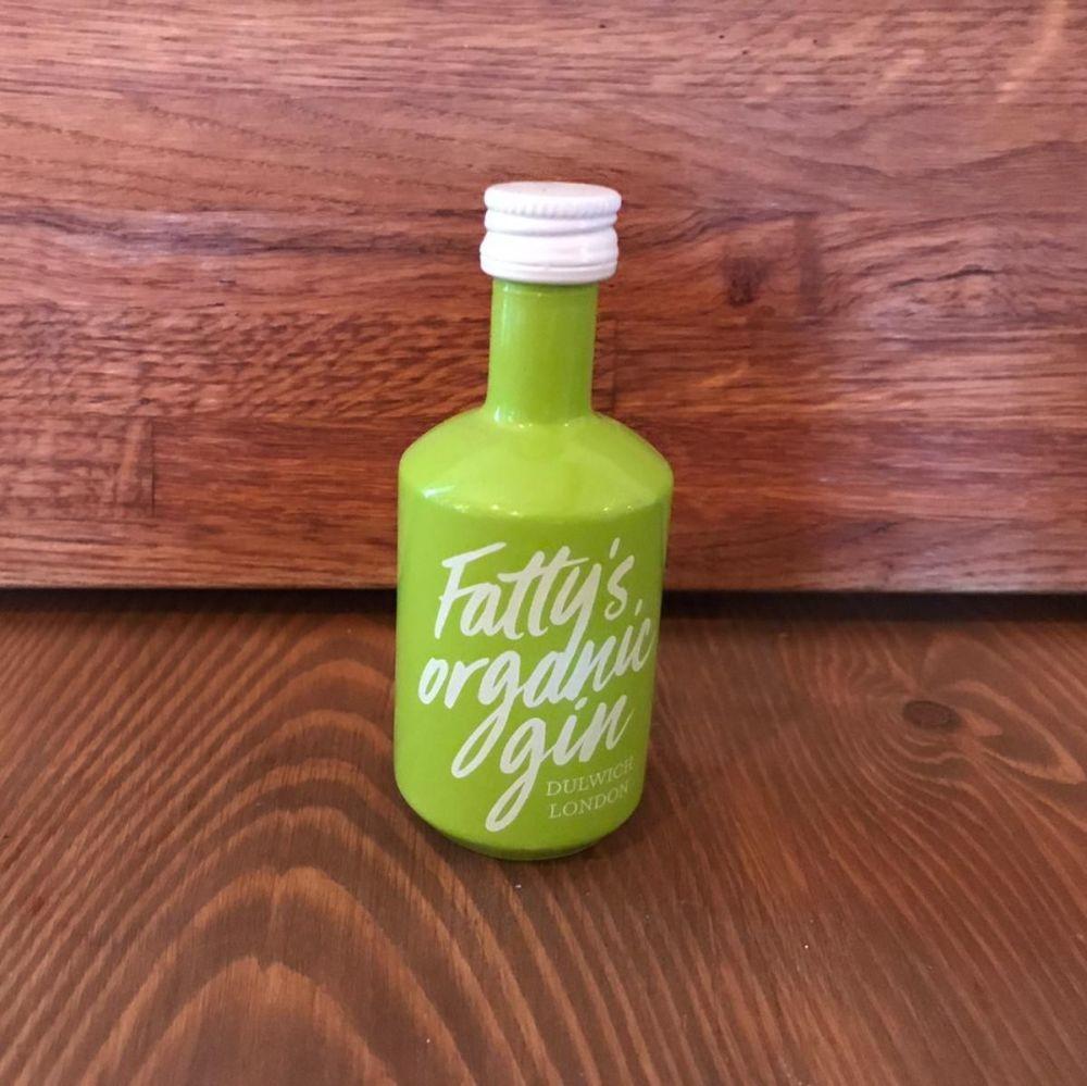 Gin - Fattys Organic London Dry Gin 5cl