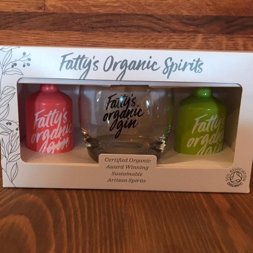 Gin - Fattys Organic Gin Selection Box