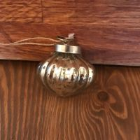 Decorations - Vintage Silver Bauble