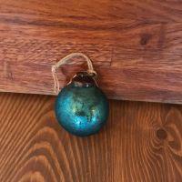 Decorations - Petrol Blue  Bauble