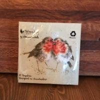 Napkins with Two Robins (small)