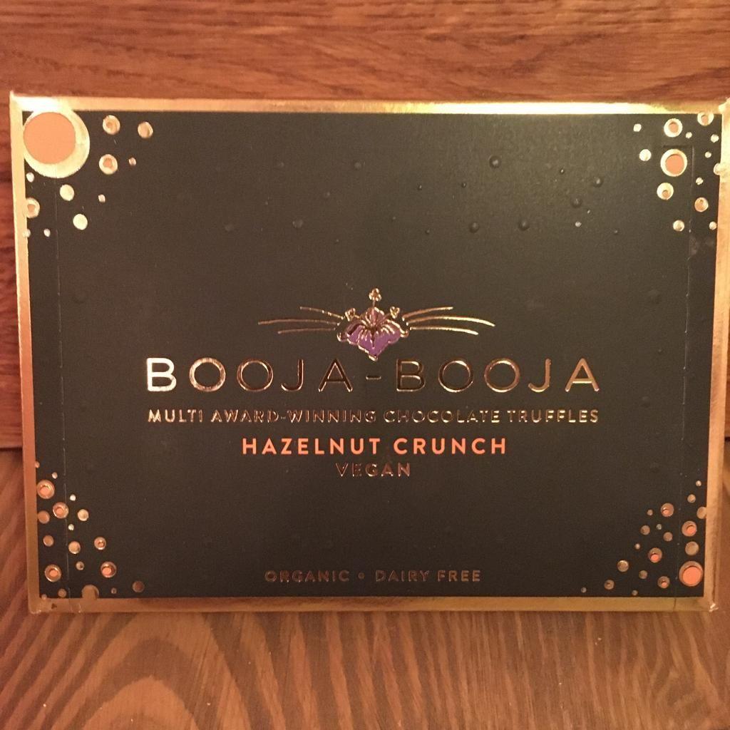 Chocolates - Booja-Booja Hazelnut Crunch